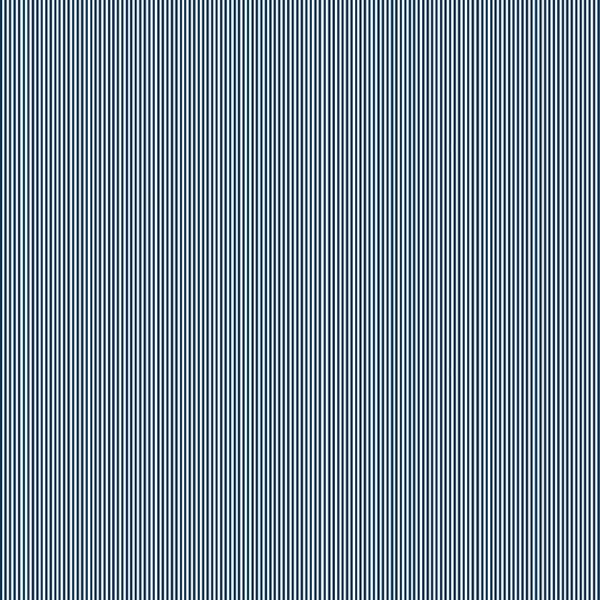 Navy Blue Pinstripe Cotton Fabric by Makower 2088/B9, Pinstripe Basics Collection - Fabric and Ribbon
