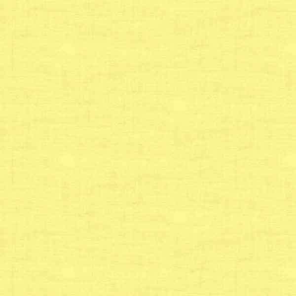 Primrose Yellow Linen Texture Cotton Fabric by Makower 1473/Y1  from their Linen Texture Collection - Fabric and Ribbon