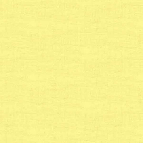 Primrose Yellow Linen Texture Cotton Fabric by Makower 1473/Y1  from their Linen Texture Collection