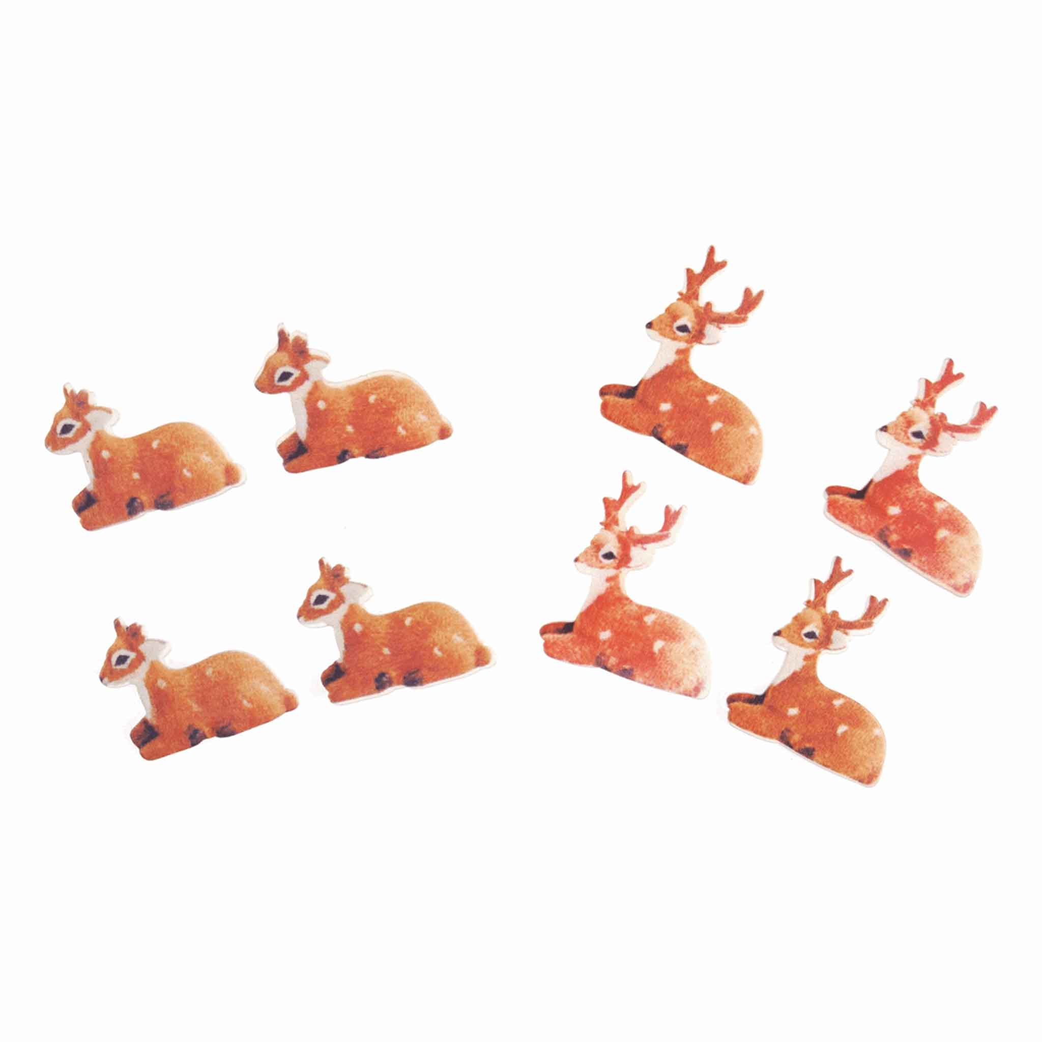 Reindeer Stick On Card Making Pack, Trimits C1521