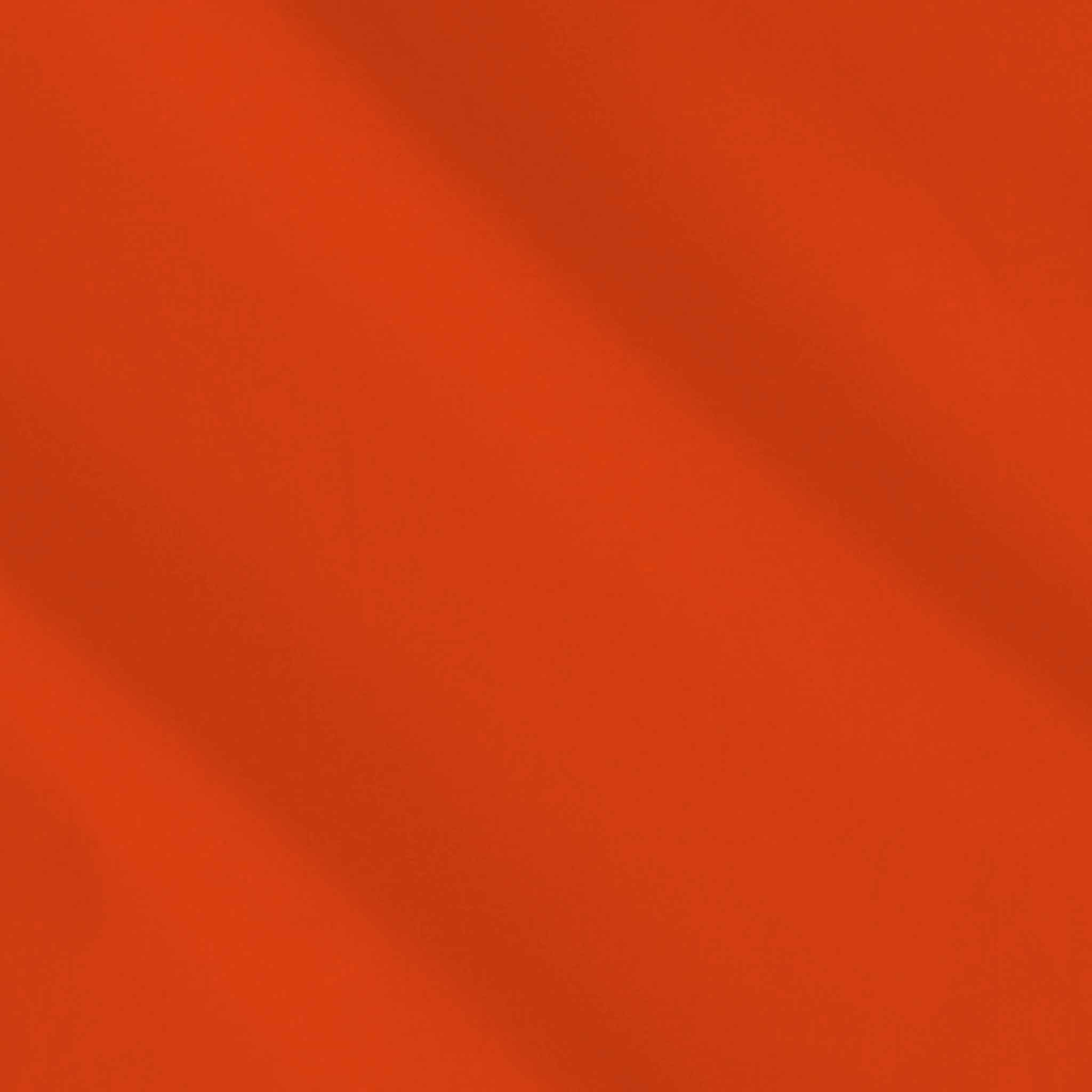 Vienna Orange Cotton Fabric by Makower 2000/U05 from their Spectrum Basics Collection - Fabric and Ribbon