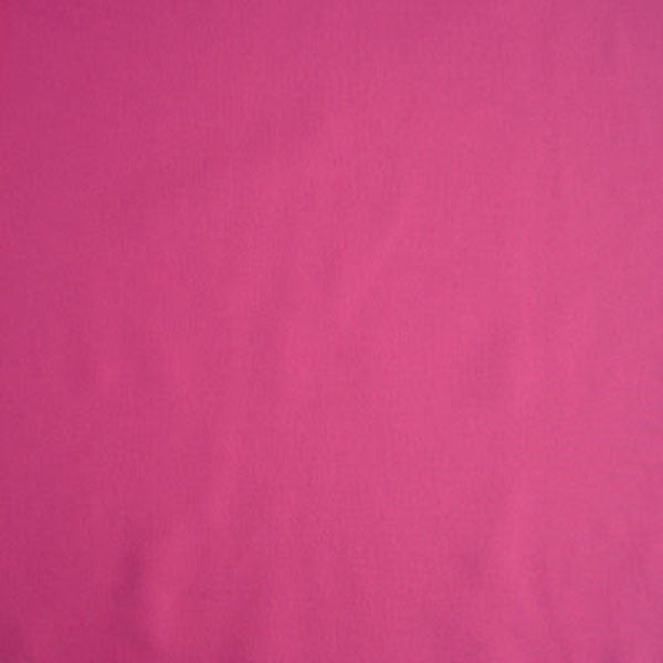 Bright Pink Fuchsia Plain Cotton Fabric