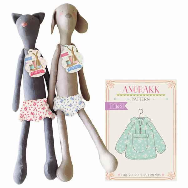 Tilda Cat Toy Kit, Tilda Harvest Friends Cat, Tilda Doll Body, Fabric Rag Doll Gift