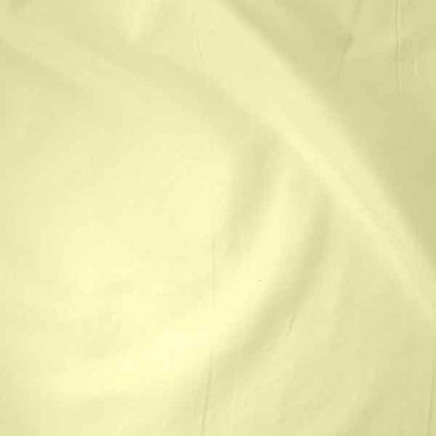 Cream cotton plain fabric