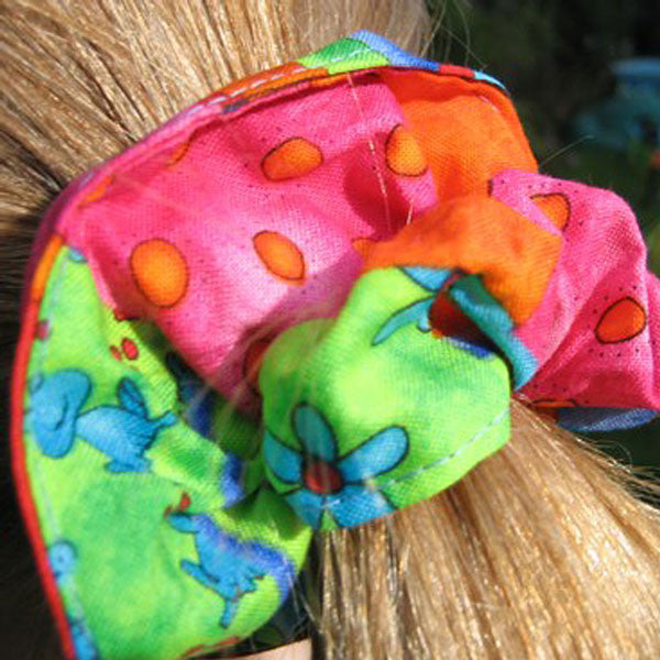Dazzle Patchwork Fabric Hair Accessories