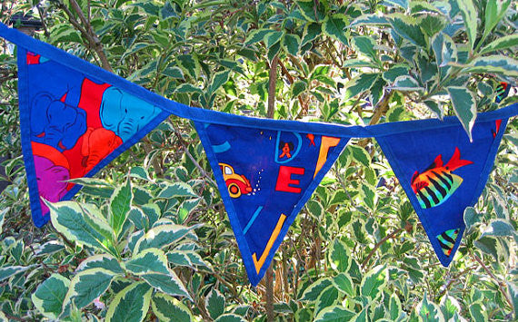 Alphabet Animals Bunting