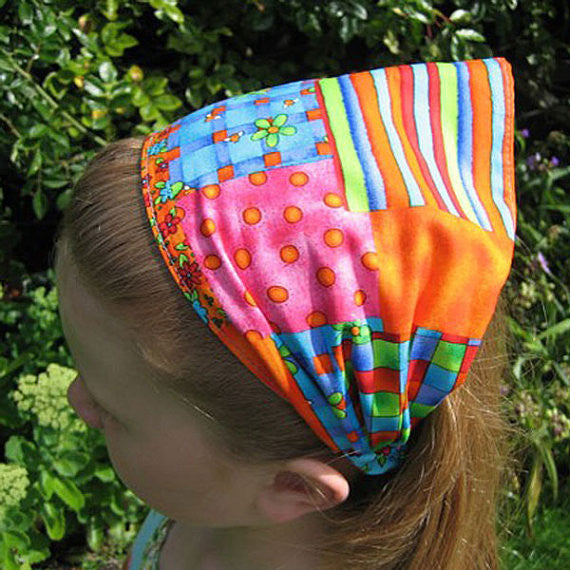 Dazzling colourful hairbands from Fabric and Ribbon