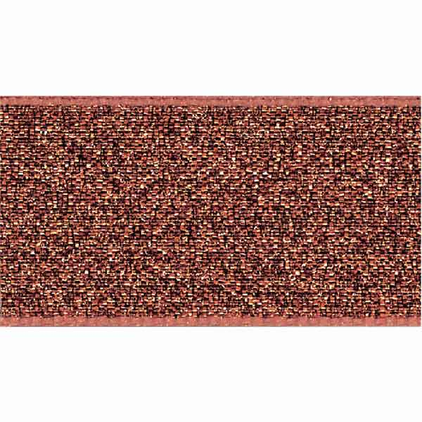 Copper Lame Ribbon, 3 mm, 7 mm, 25 mm width, Metallic Copper Reversible Fabric Ribbon - Fabric and Ribbon