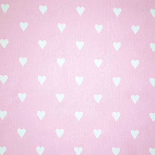 Pink Love Hearts Candy Furnishing Fabric