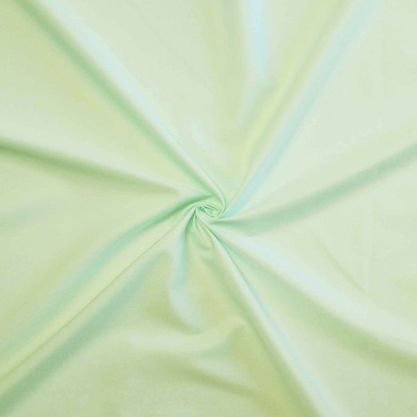 Mint Green Cotton Fabric by Rose & Hubble