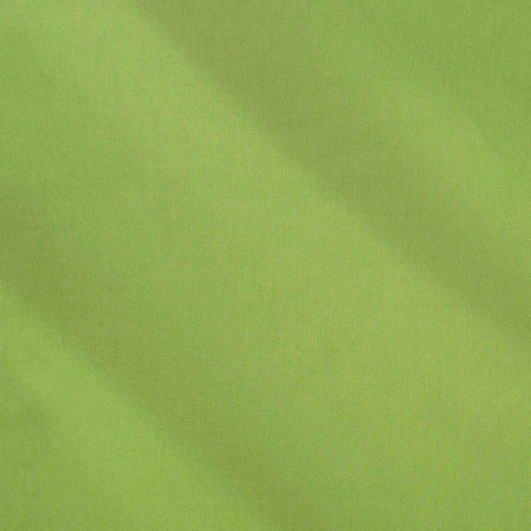 Sage Green Cotton Fabric by Rose & Hubble, Plain Olive Green Cotton Poplin Fabric - Fabric and Ribbon