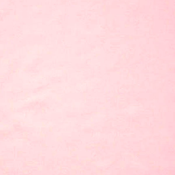 Pale Pink Cotton Fabric by Rose & Hubble, Plain Pink Cotton Poplin Fabric