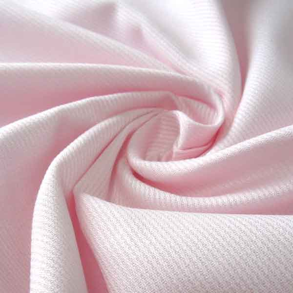 Pale Pink Cotton Pique Fabric
