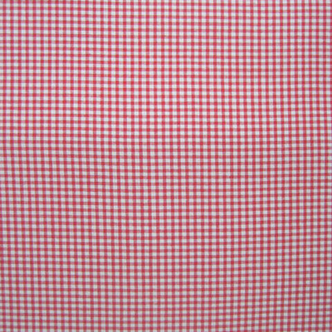 Red Gingham 1/8 inch check