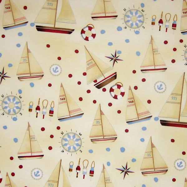 Sail Away Fabric by Henry Glass