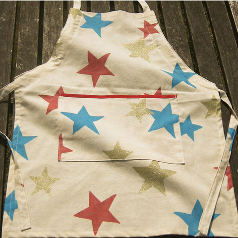 Sandy Stars Personalisable Child's Apron