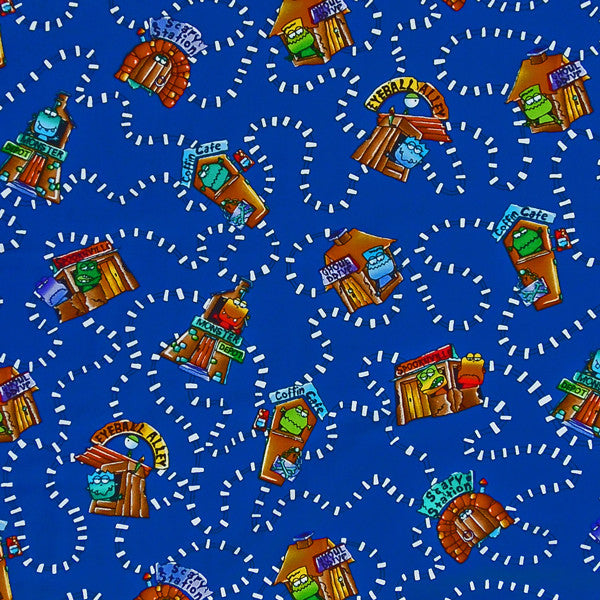Kids spookyville fabric by timeless treasures children 39 s for Children s jersey fabric