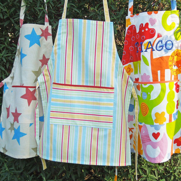 Personalised Child's Striped  Apron