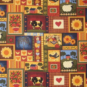 Take Me Home pure cotton fabric