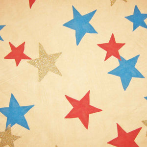 Natural Star Twinkle Furnishing Fabric by Clarke and Clarke (Globaltex), All At Sea Collection