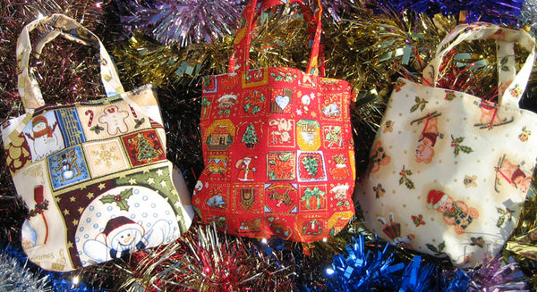 Christmas Patterned Bags