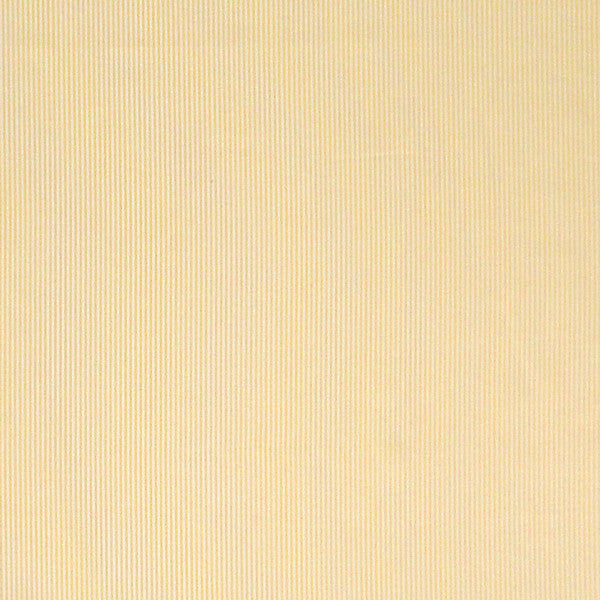 Yellow Striped Cotton Fabric, Yellow and White Narrow Striped Cotton Fabric