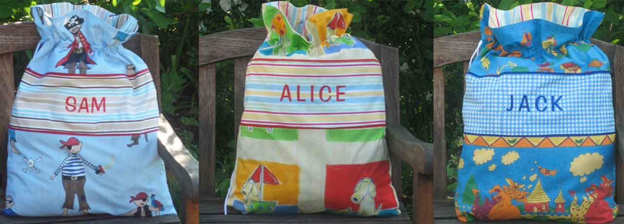 Personalised Toy Sacks