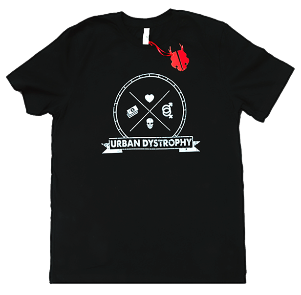 Men's Black Urban Dystrophy T-Shirt
