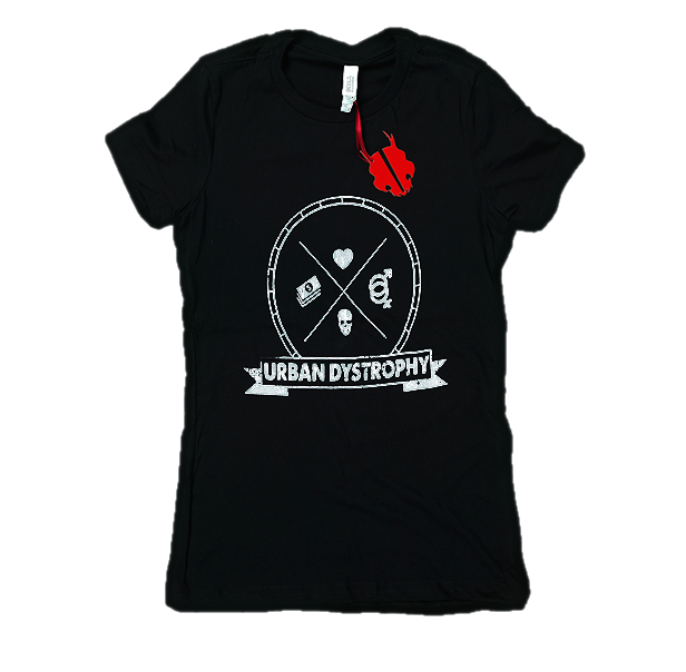 Women's Black Urban Dystrophy T-Shirt