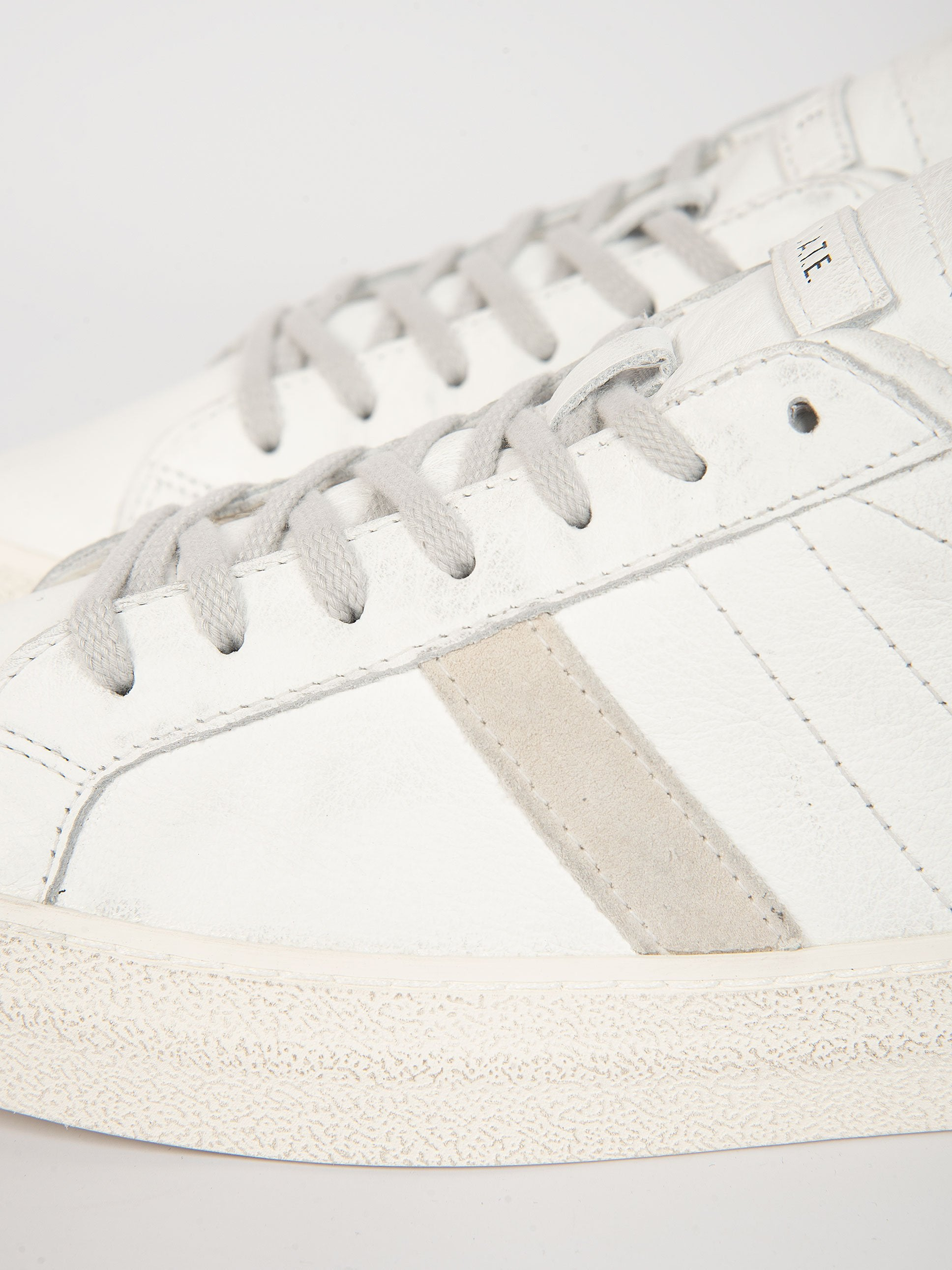 Sneaker 'Hill Low Vintage Calf' - Bianco/Nero