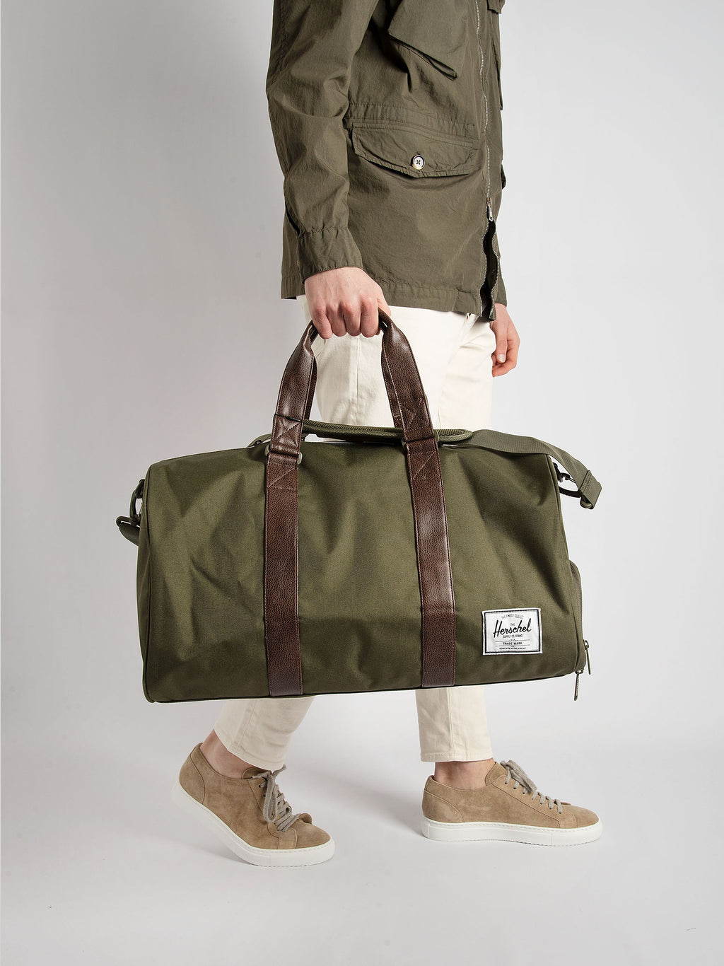 Duffle 'Novel' Bag - Green