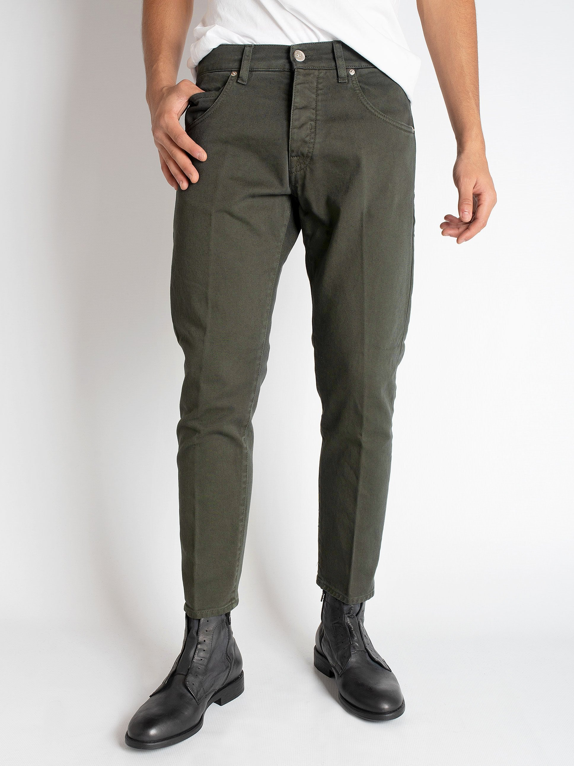 Bull Denim 'Farran' - Army