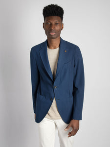 Camicia Button Down - Denim Scuro