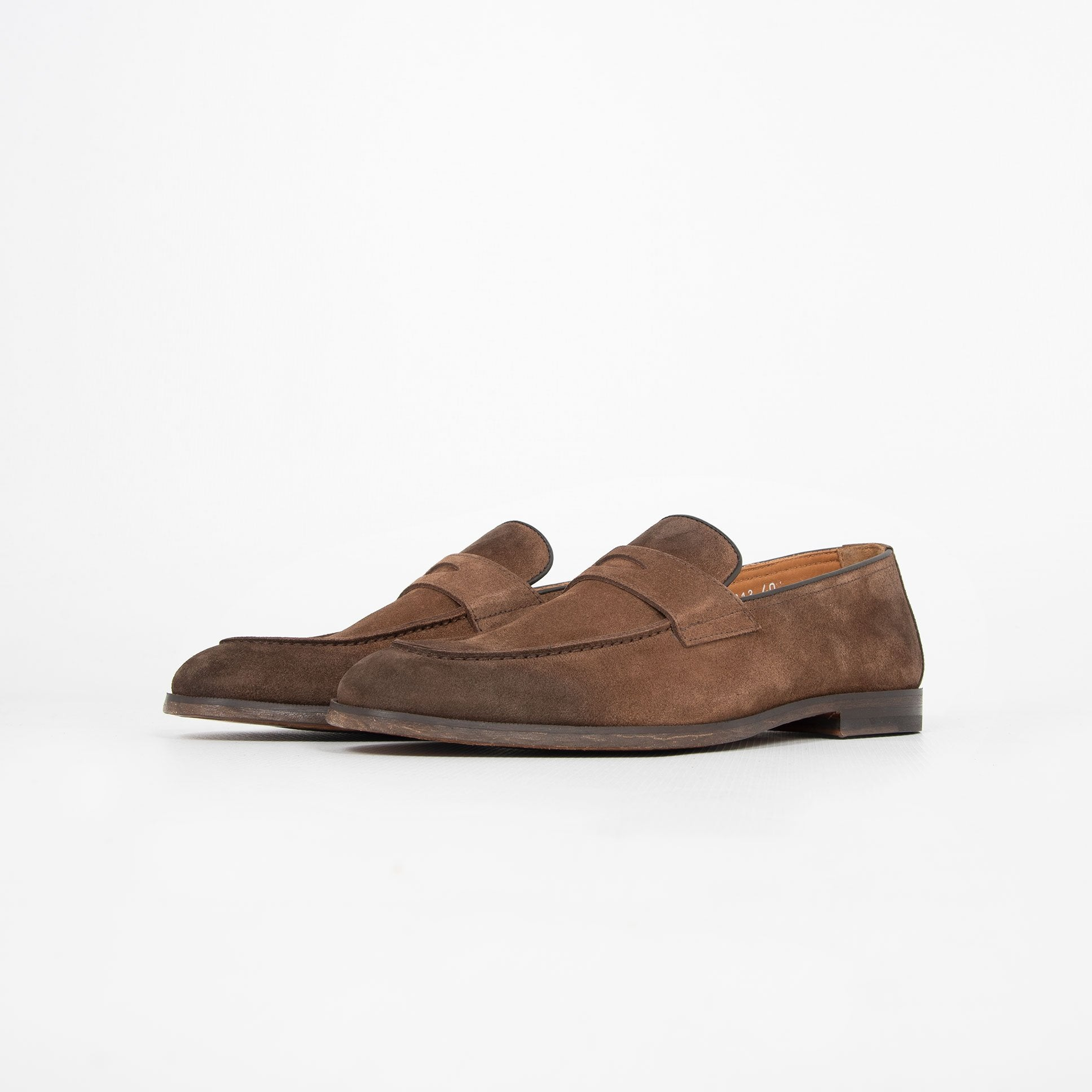 Mocassino Camoscio - Marrone