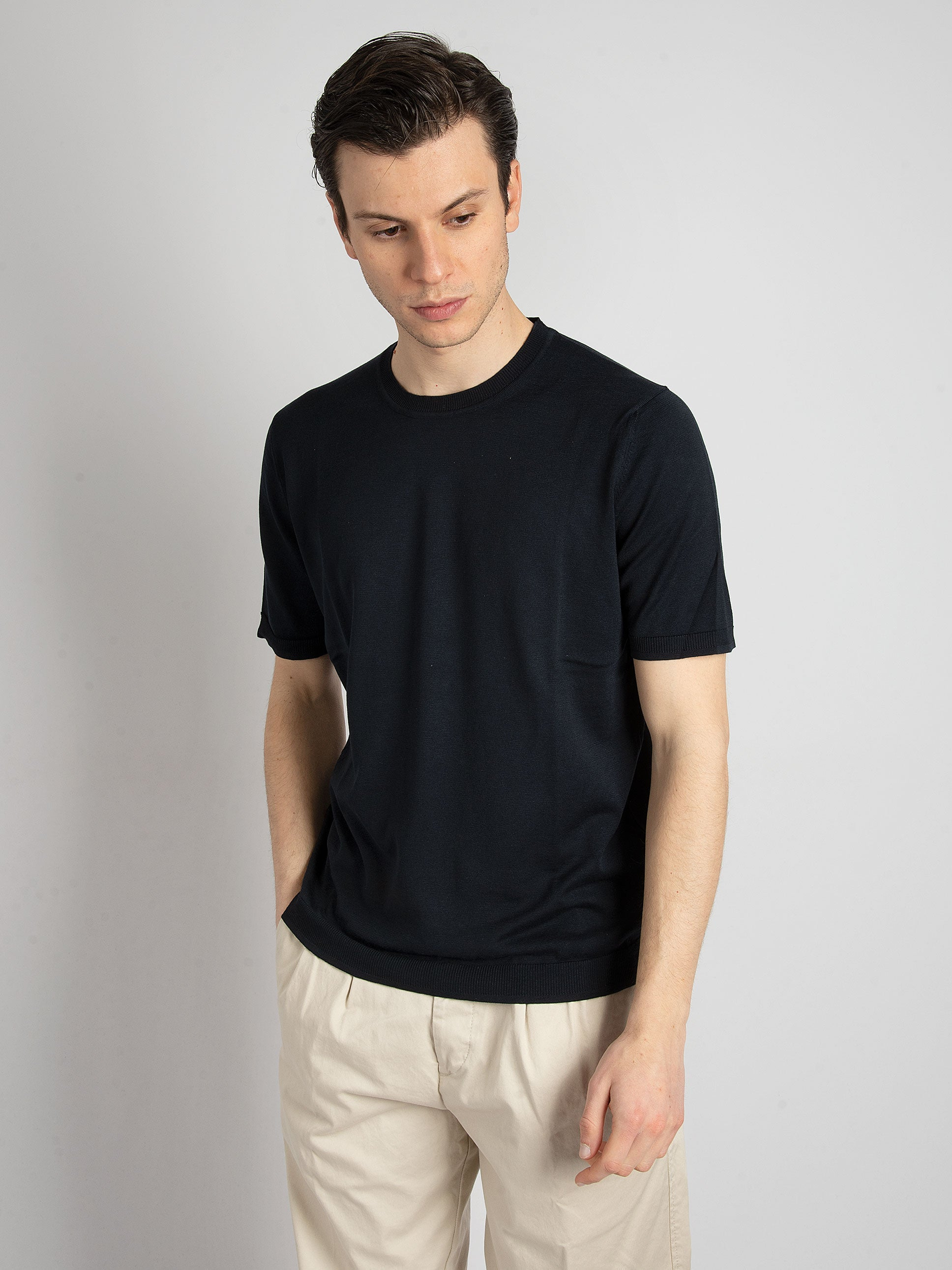 IClutch Goat Leather Classic - Nero