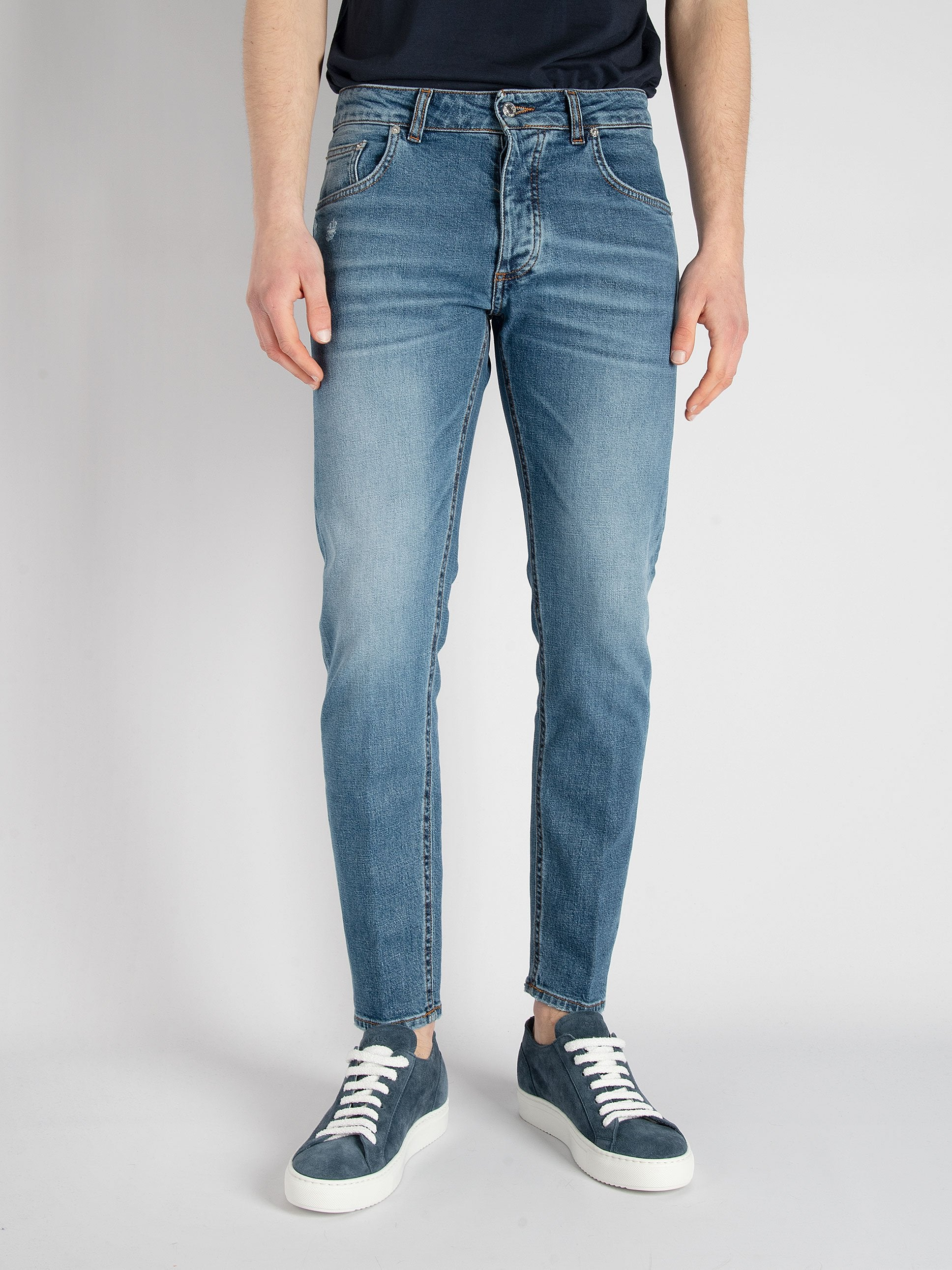 Denim 'Davis Shorter'- Denim Used Medio