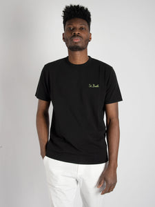 T-shirt 'Garment Dyed' - nero