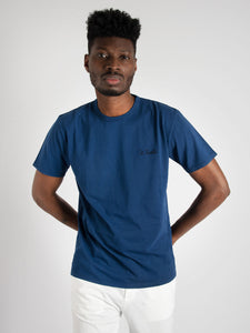 T-shirt 'Garment Dyed' - blu