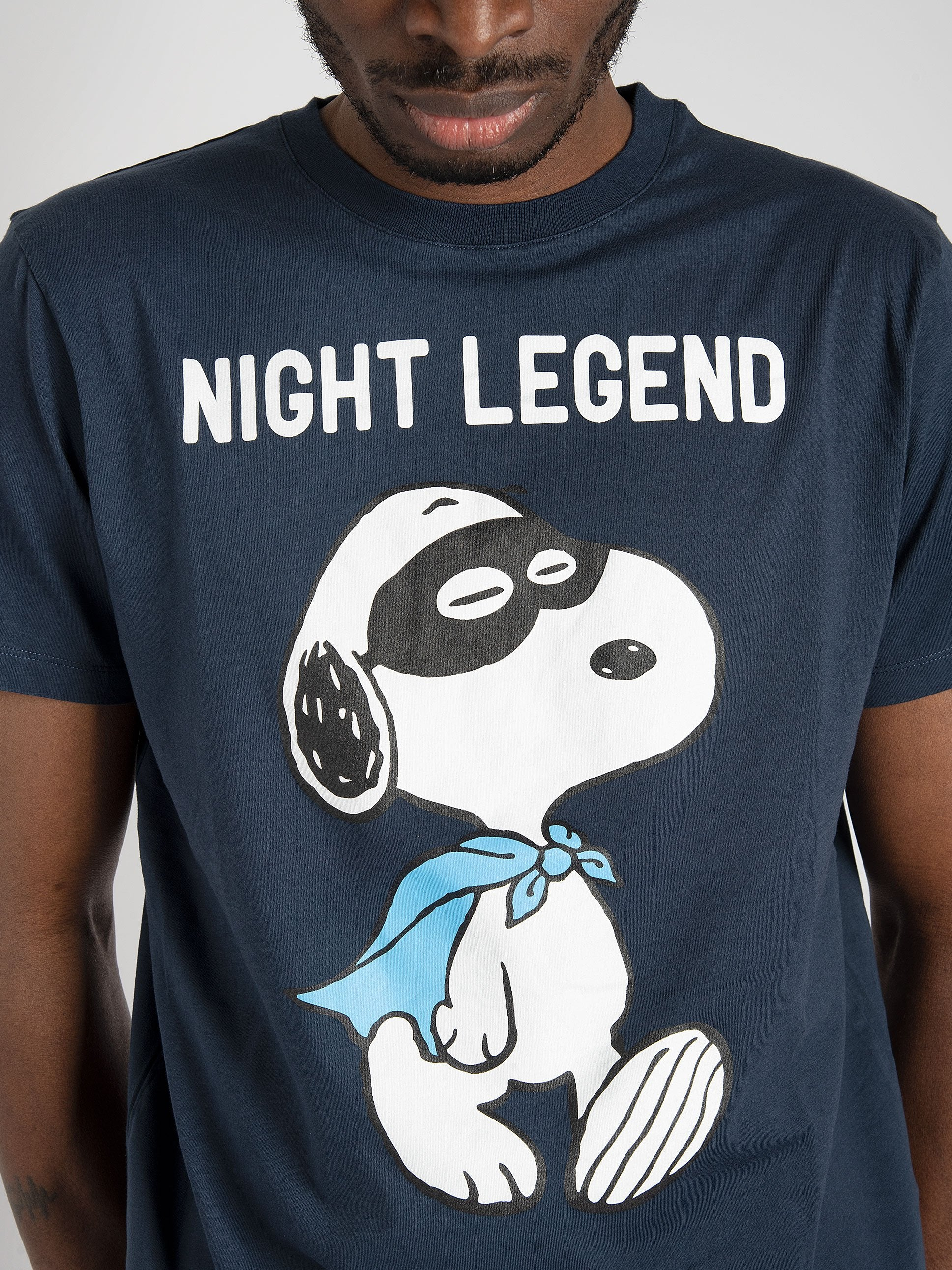 T-shirt 'Snoopy Night 61' - Blu