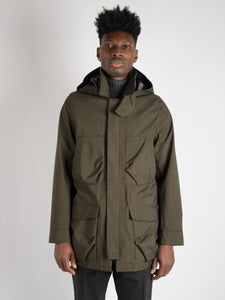 Parka 'Nesta Falck Mixed' - Military Green