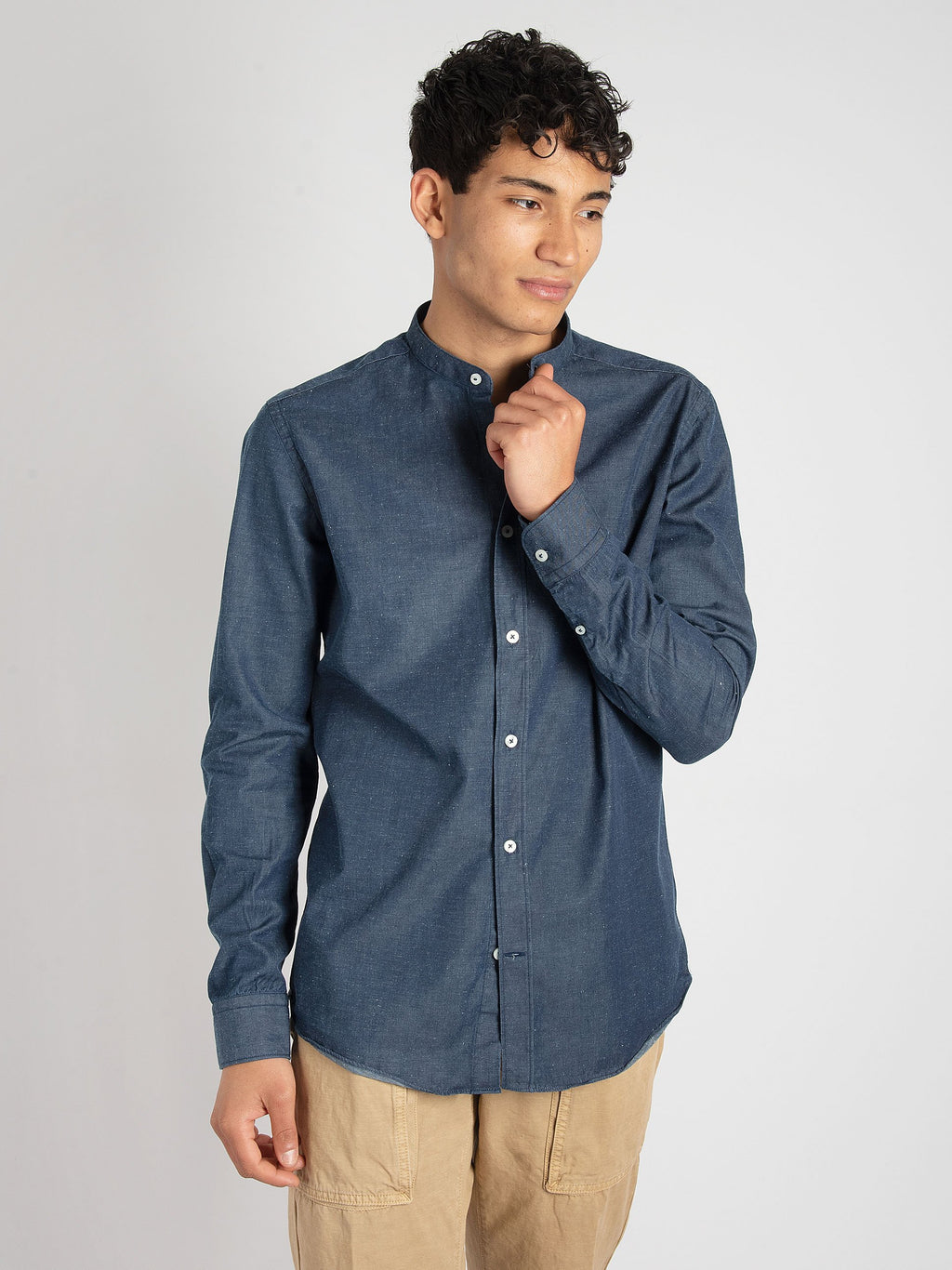 Camicia Denim - Blu Scuro