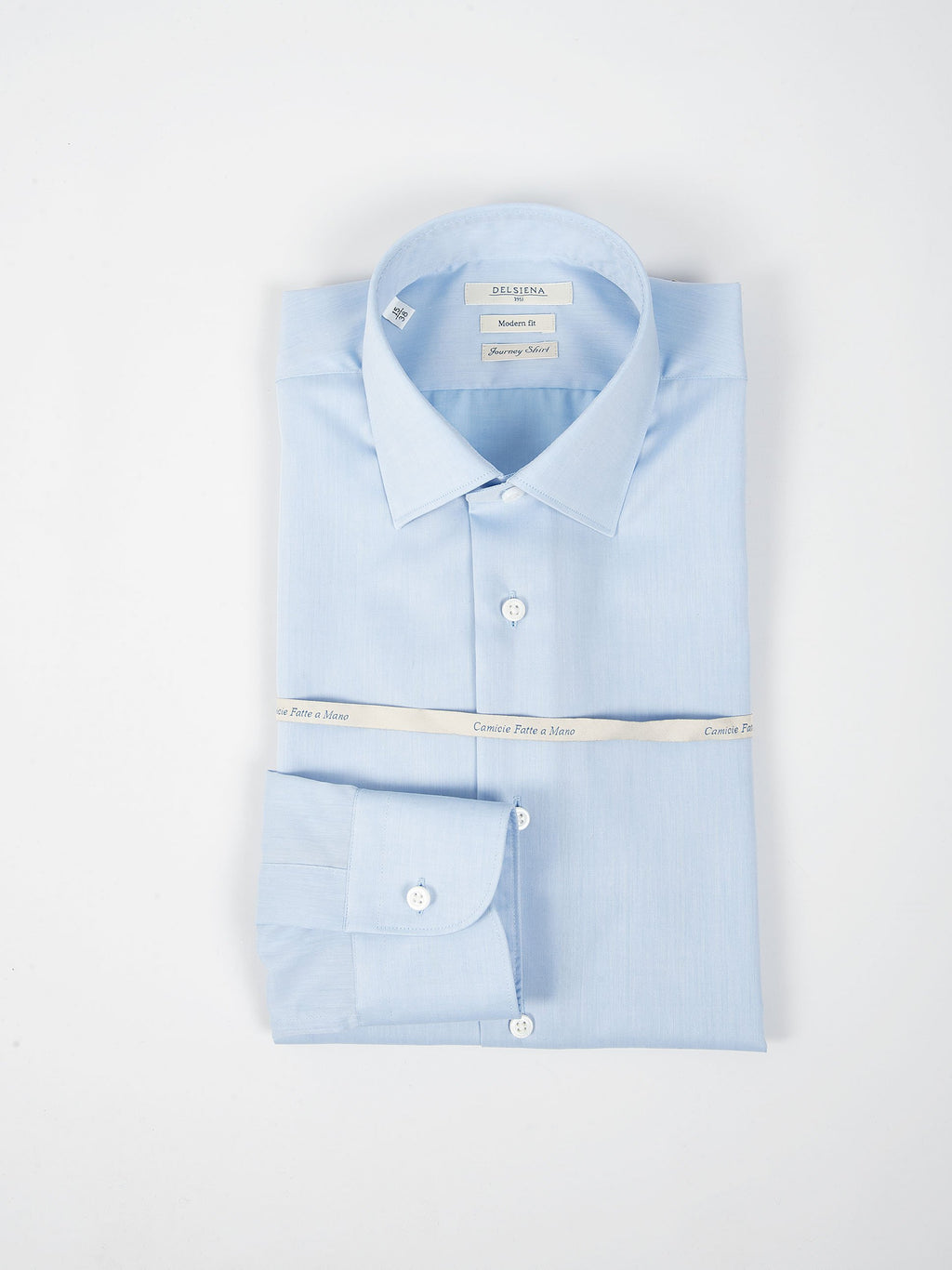 Camicia 'Journey Shirt' Twill - Celeste