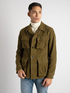 Field Jacket 'Amedeo' - Verde Militare