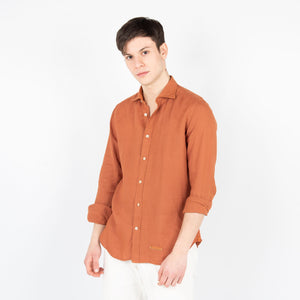 Camicia Lino - Ruggine