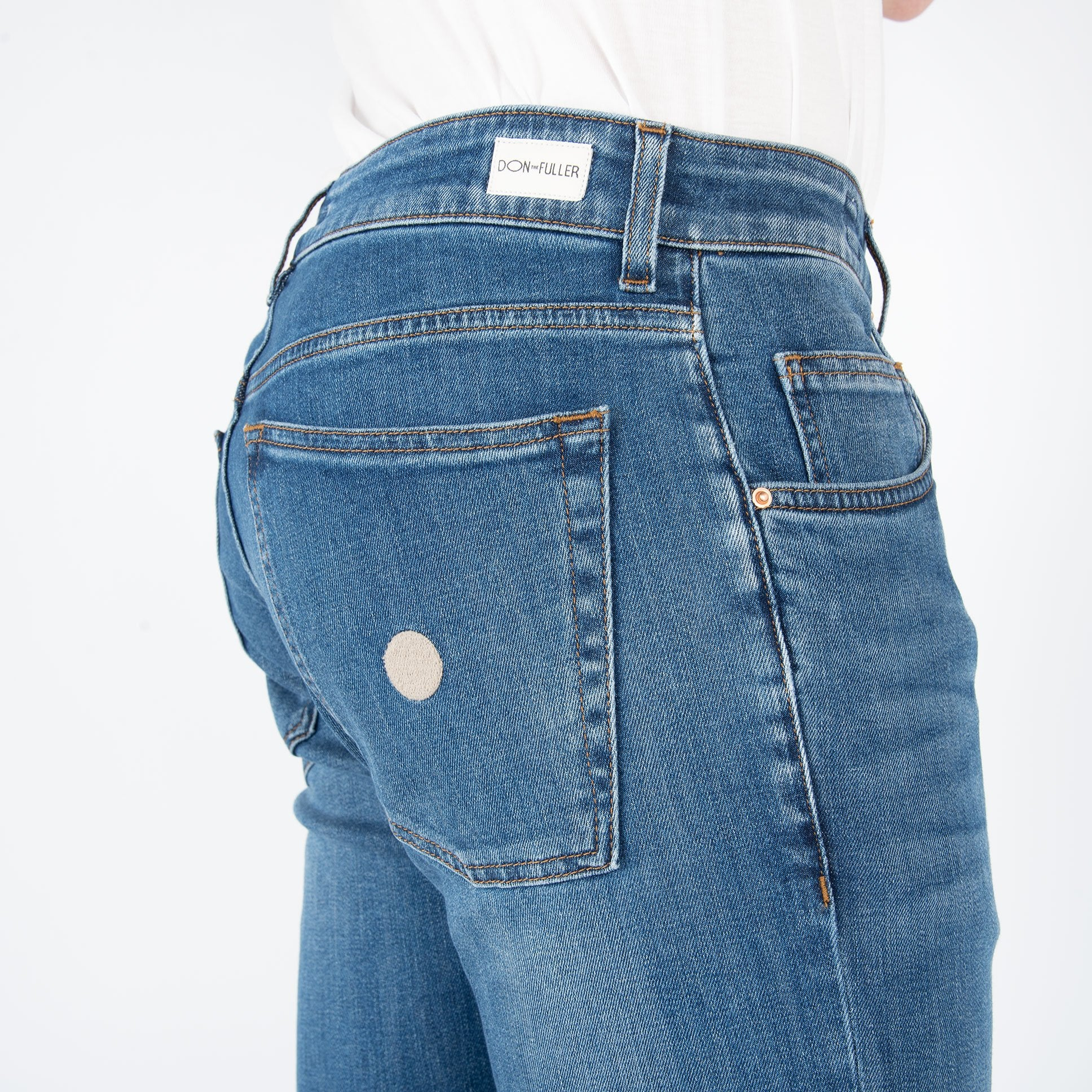 Denim 'Milano' - Vintage Medio