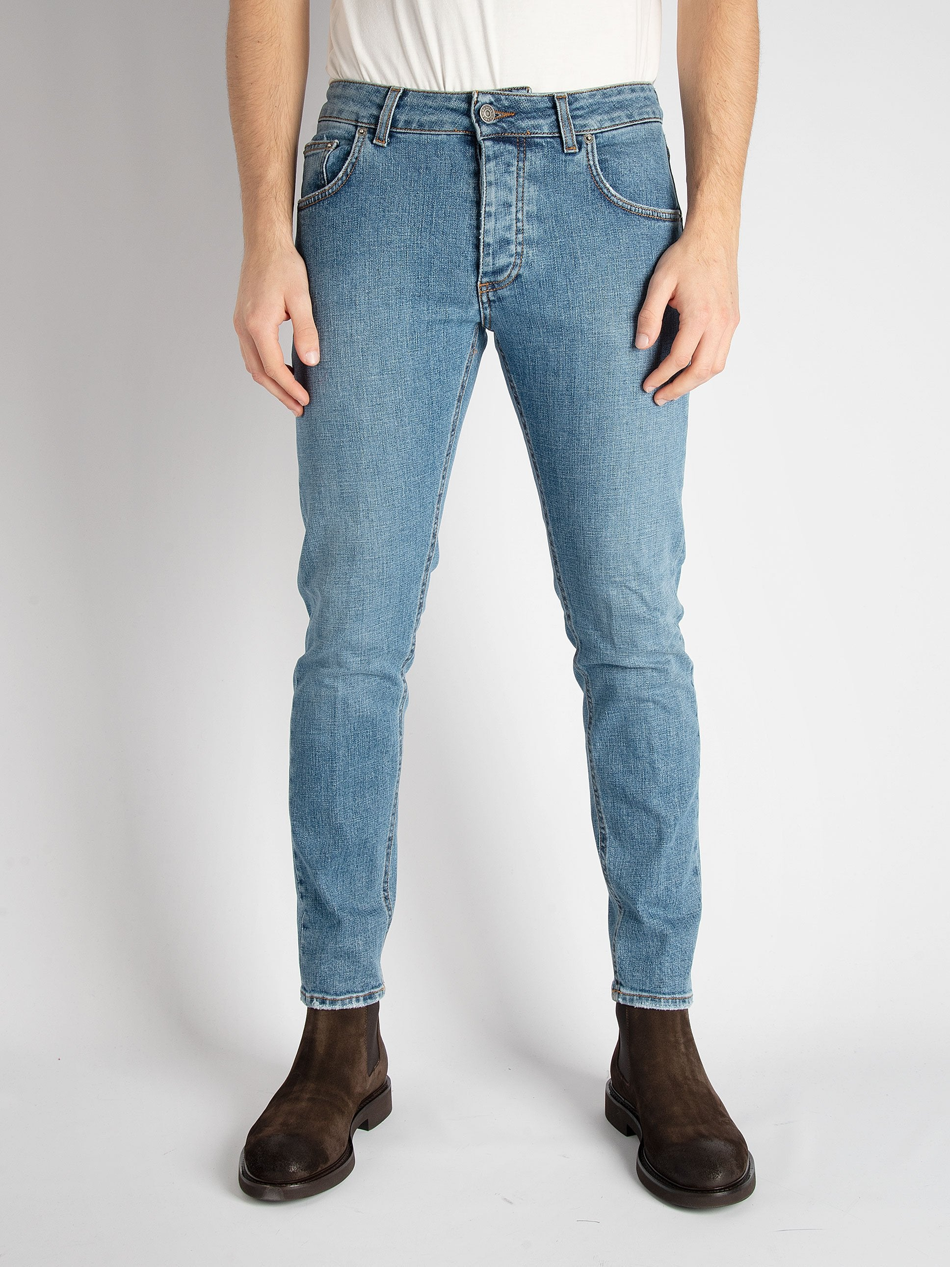 Denim 'Davis' Lav.Medio - denim medio