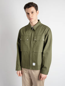 Giacca K-Way Andley - Verde Militare