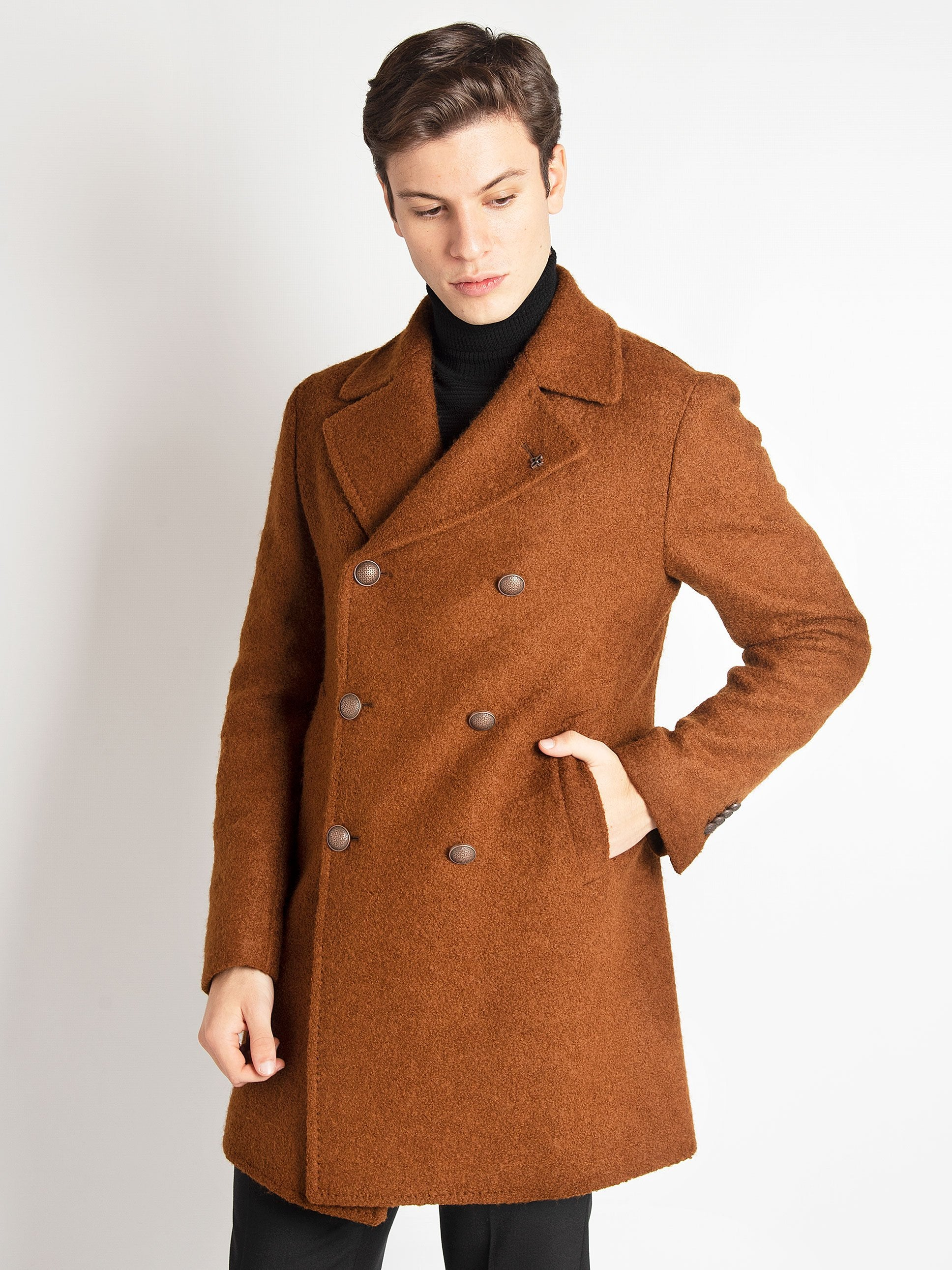 Cappotto 'C-Stephan' - Biscotto