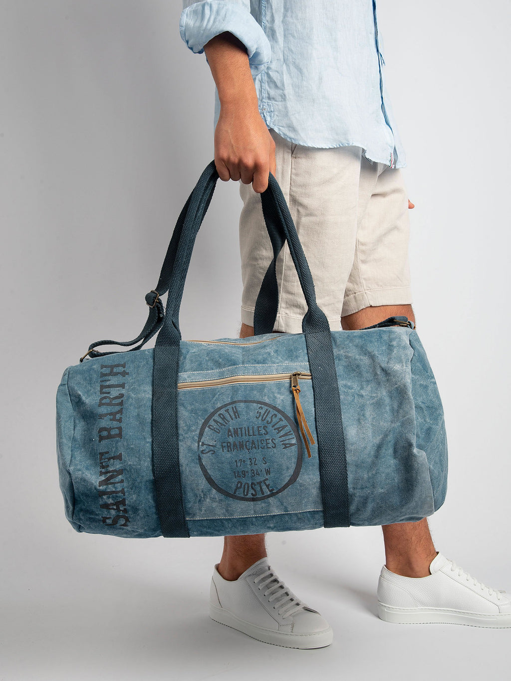 Travel Duffle Bag - Denim
