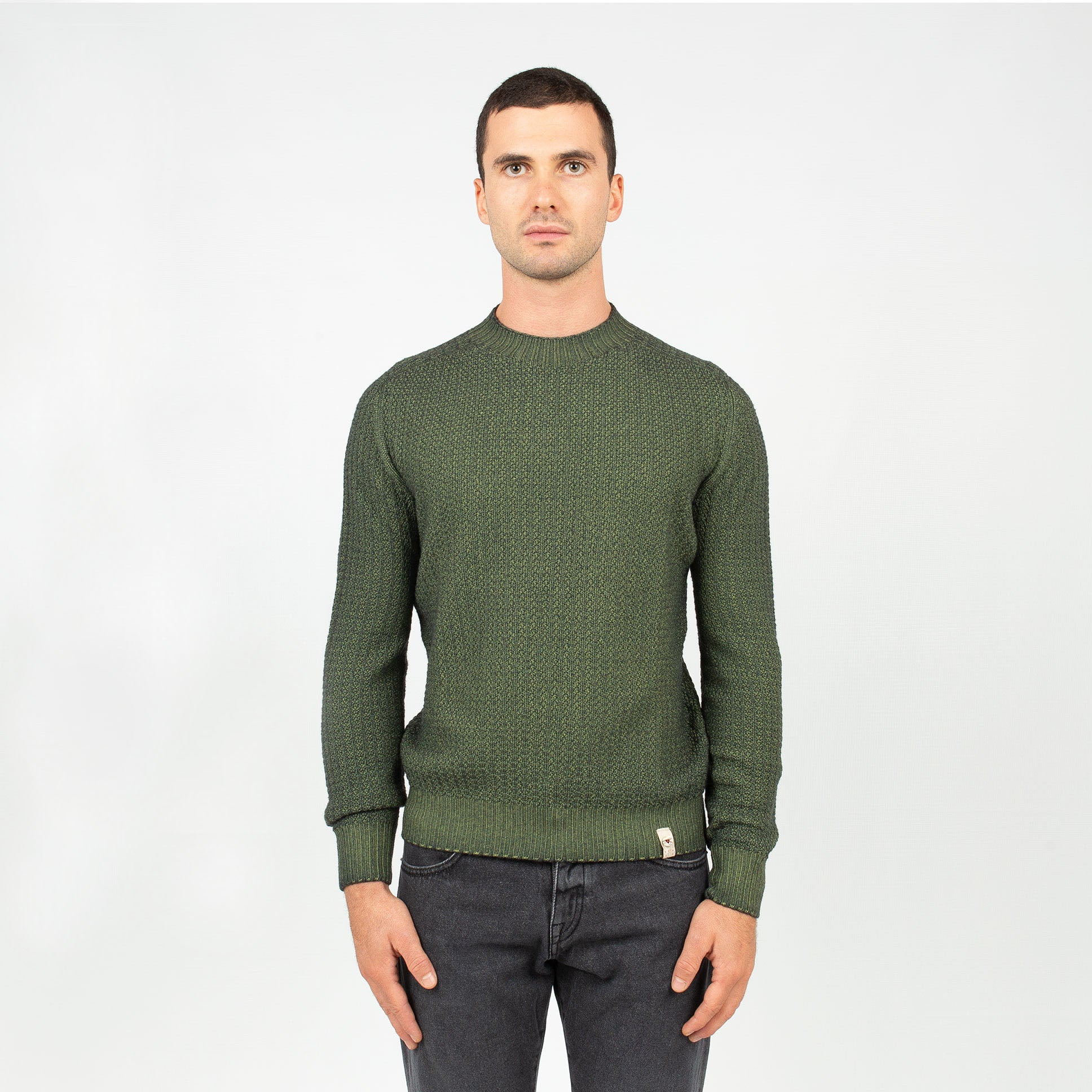 Girocollo Links Reversibile - Verde